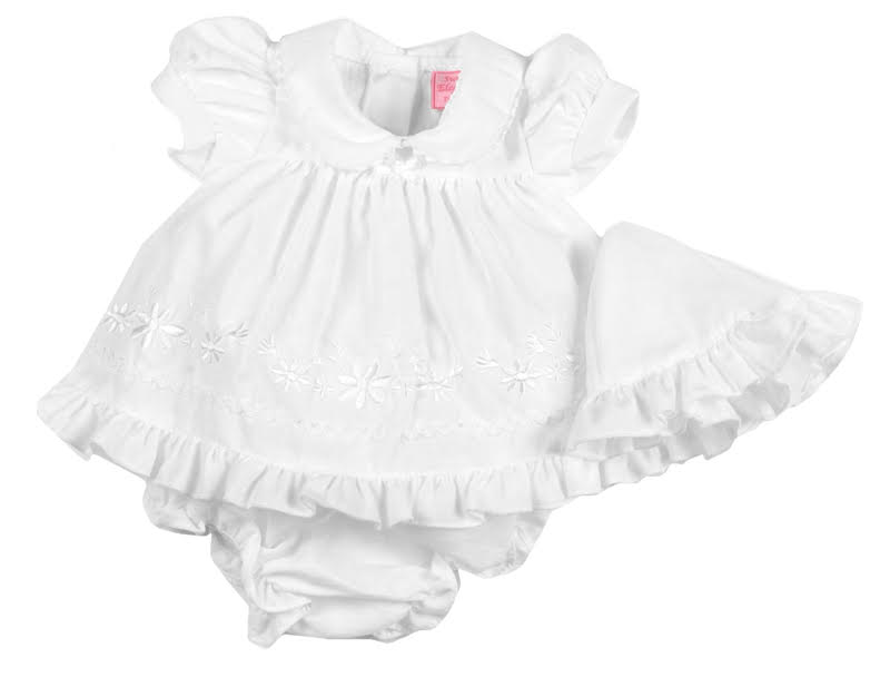 tiny premature baby loss clothing bereavement dress PUREST PETALS size 3-5lb