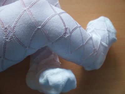 prem baby newborn tights SOFT WHITE 0-3m BABY LOVE