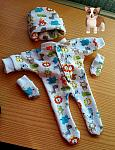 stillbirth baby boys clothes bereavement JUNGALOO colourful born 20-24 week