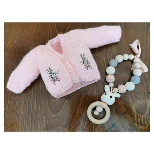 baby funeral clothes bunny